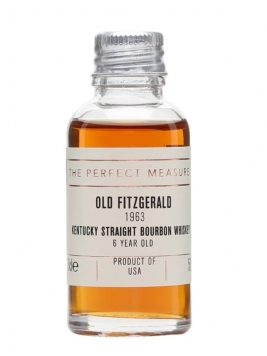 Old Fitzgerald 1963 Sample / 6 Year Old