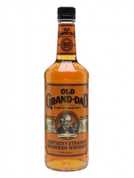 Old Grand-Dad Bourbon / 80 Proof Kentucky Straight Bourbon Whiskey