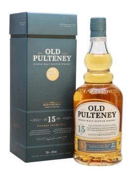 Old Pulteney 15 Year Old Highland Single Malt Scotch Whisky