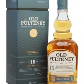 Old Pulteney 15 Year Old Highland Single Malt Scotch Whisky