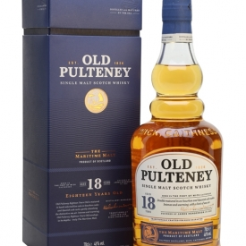 Old Pulteney 18 Year Old Highland Single Malt Scotch Whisky