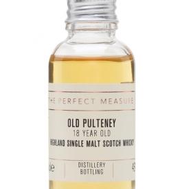 Old Pulteney 18 Year Old Sample Highland Single Malt Scotch Whisky