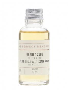 Orkney 2003 Sample / 15 Year Old / Old Malt Cask Island Whisky