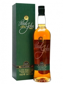Paul John Classic Select Cask Indian Single Malt Whisky