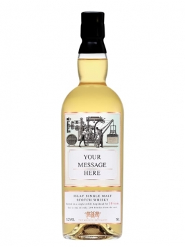 Personalised 10 Year Old Scotch Whisky Islay Single Malt Scotch Whisky