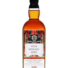 Personalised 25 Year Old SIngle Grain Scotch Whisky Lowland Whisky