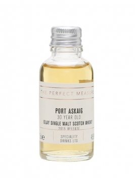 Port Askaig 30 Year Old Sample / 2015 Release Islay Whisky
