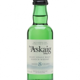 Port Askaig 8 Year Old / Miniature Islay Single Malt Scotch Whisky