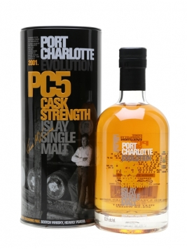 Port Charlotte 2001 / 5 Year Old / (PC5) Islay Whisky