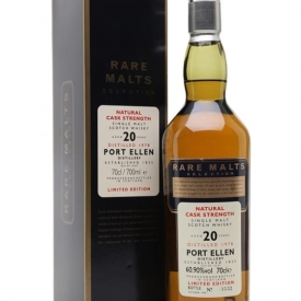 Port Ellen 1978 / 20 Year Old / Rare Malts Islay Whisky