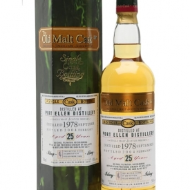 Port Ellen 1978 / 25 Year Old / Old Malt Cask Islay Whisky