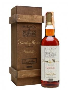 Port Ellen 1979 / 23 Year Old / Sherry Cask/ Wilson & Morgan Islay Whisky
