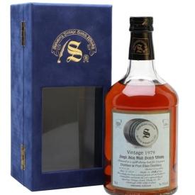 Port Ellen 1979 / 23 Years Old / Sherry Cask / Signatory Islay Whisky