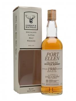 Port Ellen 1980 / Bot.1997 / Gordon & Macphail Islay Whisky