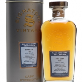 Port Ellen 1982 / 25 Year Old / Signatory Islay Whisky