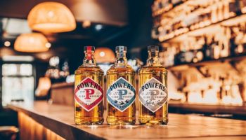 Powers Irish Whiskey New Branding