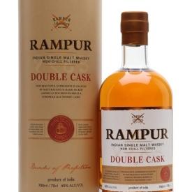 Rampur Double Cask Single Malt Whisky India Single Malt Whisky
