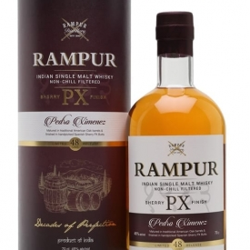 Rampur Single Malt Whisky / PX Sherry Cask Indian Single Malt Whisky