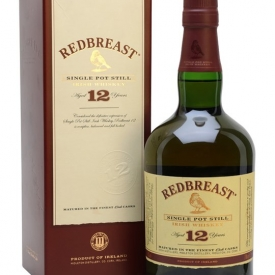 Redbreast 12 Year Old Single Pot Still Irish Whiskey 70cl