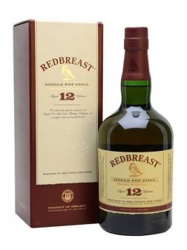 Redbreast 12 Year Old Single Pot Still Irish Whiskey 70cl