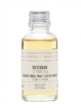 Rosebank 12 Year Old Sample / Flora & Fauna Lowland Whisky