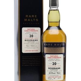 Rosebank 1979 / 20 Year Old / Rare Malts Lowland Whisky