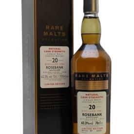 Rosebank 1981 / 20 Year Old / Rare Malts Lowland Whisky