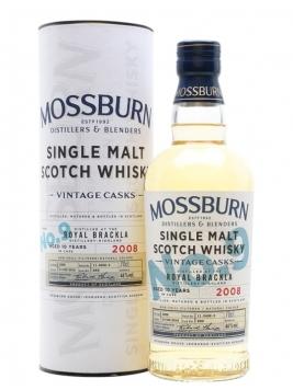 Royal Brackla 2008 / 10 Year Old /Vintage Casks #9 /Mossburn Highland Whisky