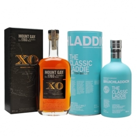 Rum and Islay Whisky Mixed Double