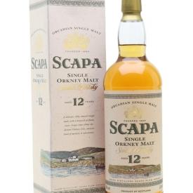 Scapa 12 Year Old Island Single Malt Scotch Whisky