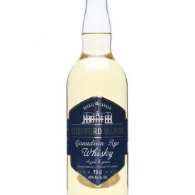 Shefford Manor 3 Year Old Canadian Rye Whisky Canadian Rye Whisky