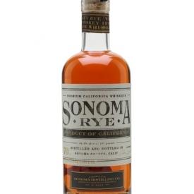 Sonoma Distilling Co Rye California Rye Whiskey