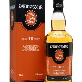 Springbank 10 Year Old Campbeltown Single Malt Scotch Whisky