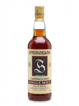 Springbank 12 Year Old / Bot.1990s Campbeltown Whisky