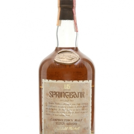 Springbank 15 Year Old / Bot.1980s Campbeltown Whisky