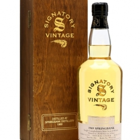 Springbank 1969 / 34 Year Old / Signatory Campbeltown Whisky