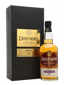 Springbank 1969 / 36 Year Old / Chieftain's Campbeltown Whisky