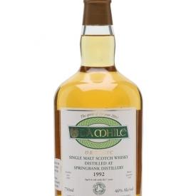 Springbank 1992 / Da Mhile Campbeltown Single Malt Scotch Whisky