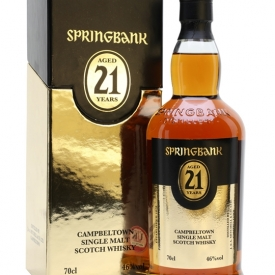 Springbank 21 Year Old / 2016 Edition Campbeltown Whisky
