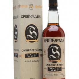 Springbank 21 Year Old / Bot.2000s Campbeltown Whisky