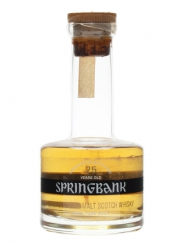 Springbank 25 Year Old / Bot.1970s Campbeltown Whisky