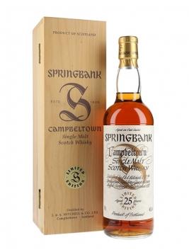 Springbank 25 Year Old / Millennium Set Campbeltown Whisky