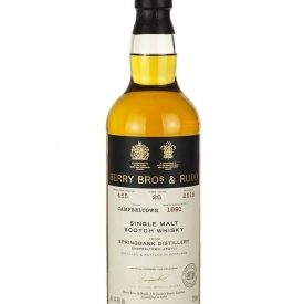 Springbank 26 Year Old 1991 Berry Bros