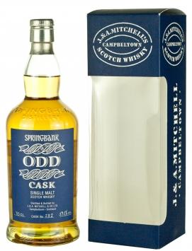 Springbank ODD 12 Year Old 1997 Rum Cask