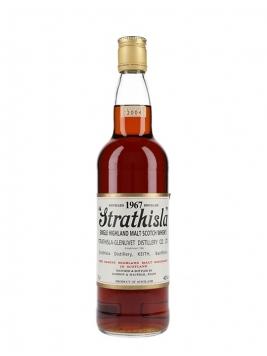 Strathisla 1967 / Bot.2004 / Sherry Cask / Gordon & MacPhail Speyside Whisky