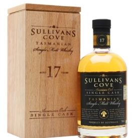 Sullivans Cove 17 Year Old / American Oak Single cask Australian Whisky