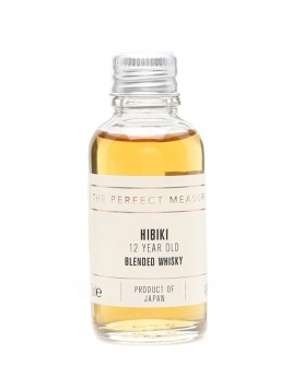 Suntory Hibiki 12 Year Old Sample Blended Japanese Whisky