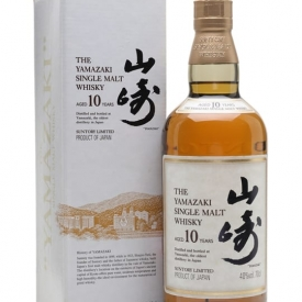 Suntory Yamazaki 10 Year Old Japanese Single Malt Whisky