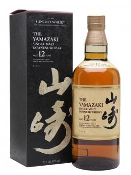 Suntory Yamazaki 12 Year Old Japanese Single Malt Whisky