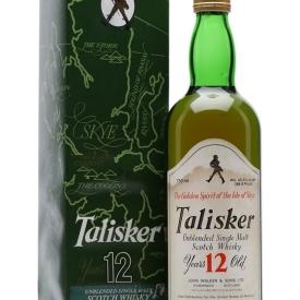 Talisker 12 Year Old / Bot.1980s Island Single Malt Scotch Whisky